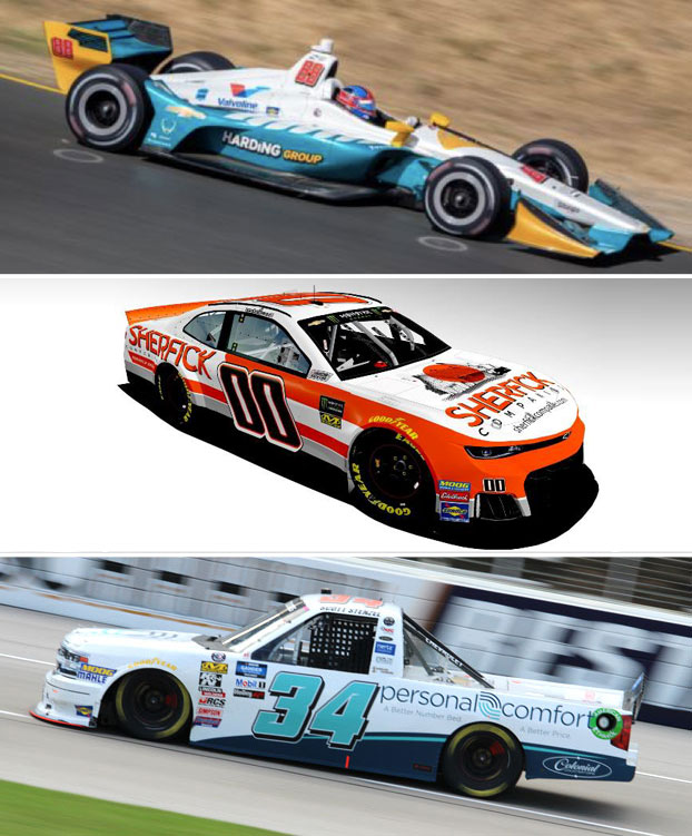 Nascar and Indycar